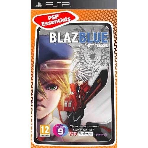 BlazBlue Calamity Trigger PSP