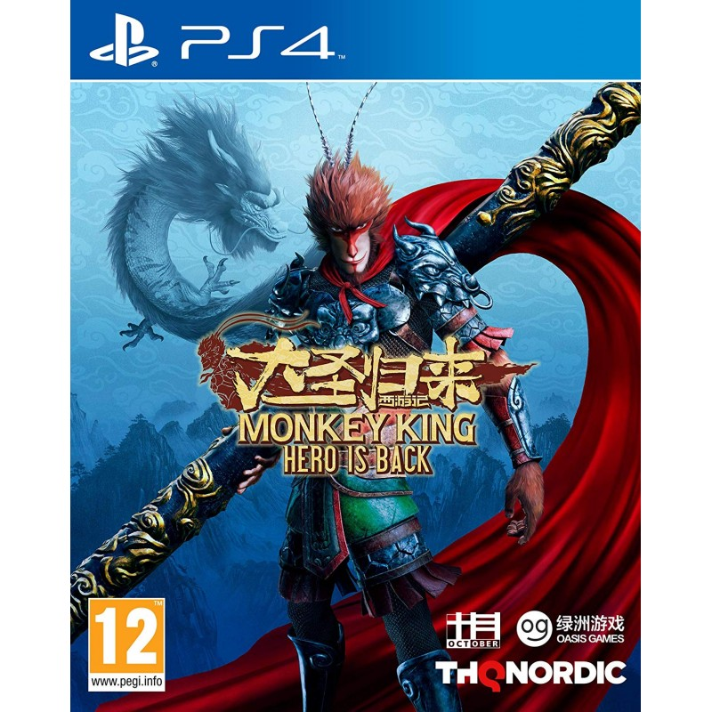 Monkey King Hero is Back PS4