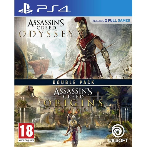 Assassin's Creed Odyssey + Origins Double Pack PS4