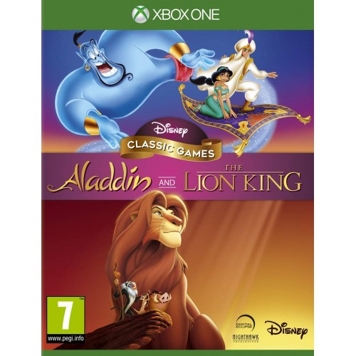 Disney Classic Games Aladdin and The Lion King Xbox One