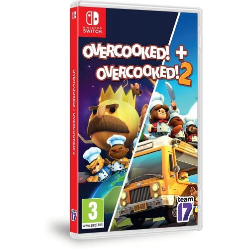 Overcooked! + Overcooked! 2 Double Pack Nintendo Switch