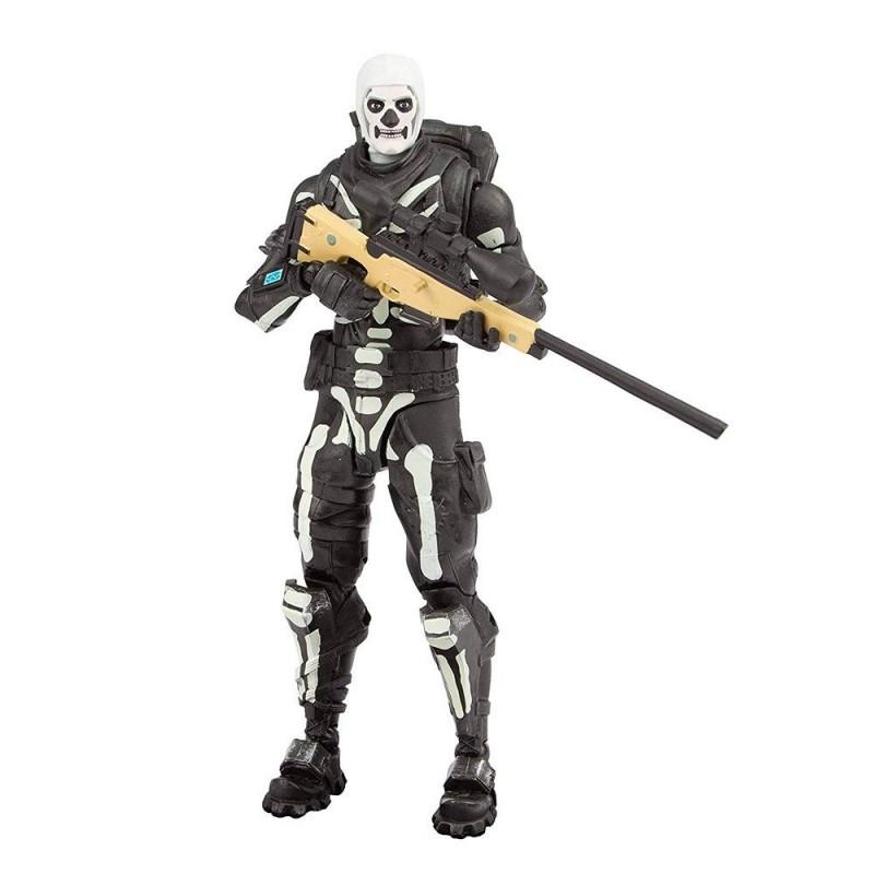 Boneco Fortnite Skull Trooper 18cm