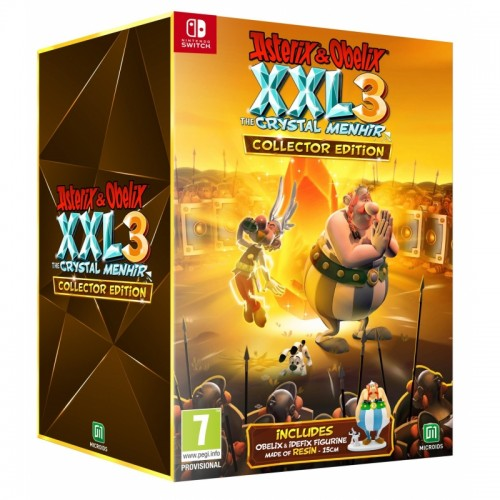 Asterix & Obelix XXL 3 The Crystal Menhir Collector's Edition Nintendo Switch
