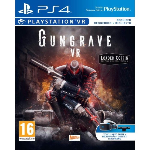 Gungrave VR The Loaded Coffin Edition PS4