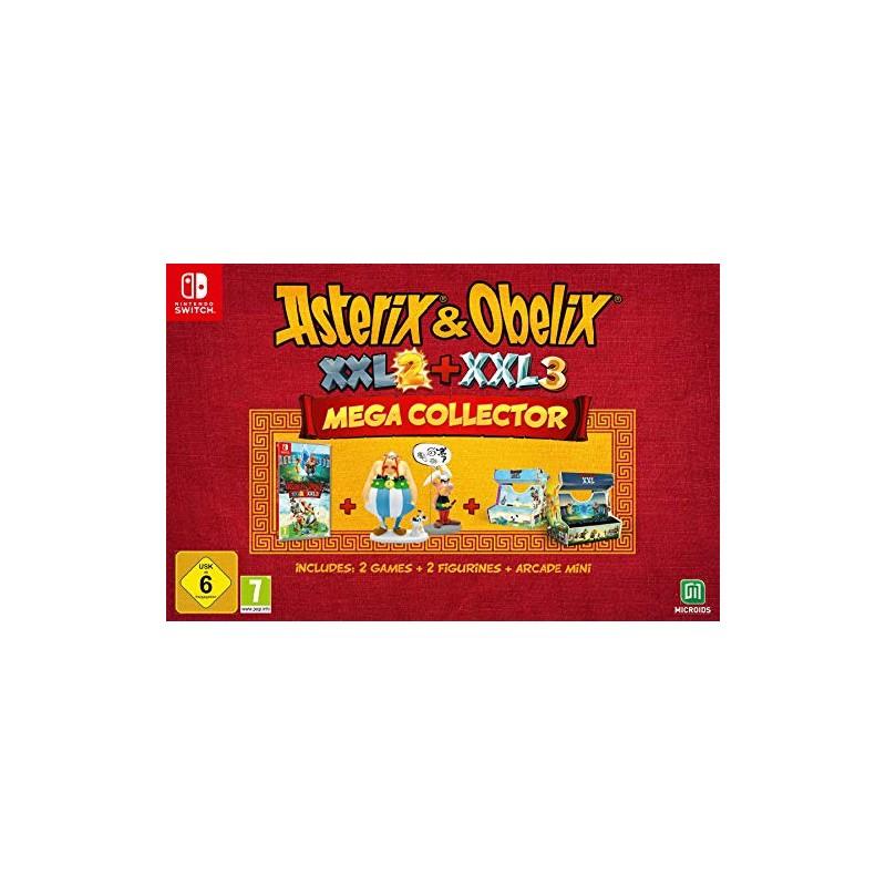 Asterix & Obelix XX2 + XXL 3 Mega Collector's Edition Nintendo Switch