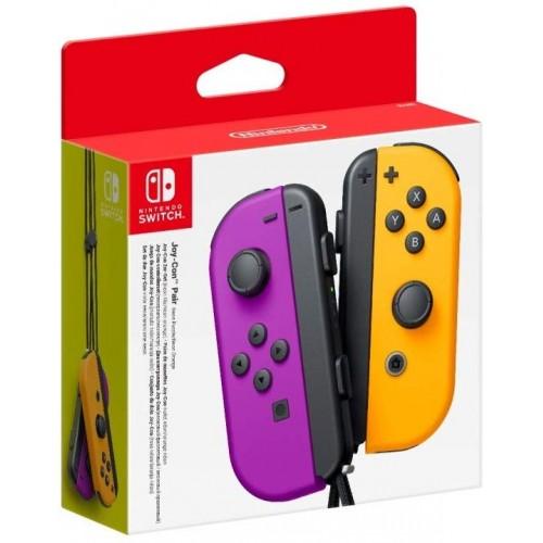 Conjunto Comandos Joy Con Roxo & Laranja Nintendo Switch