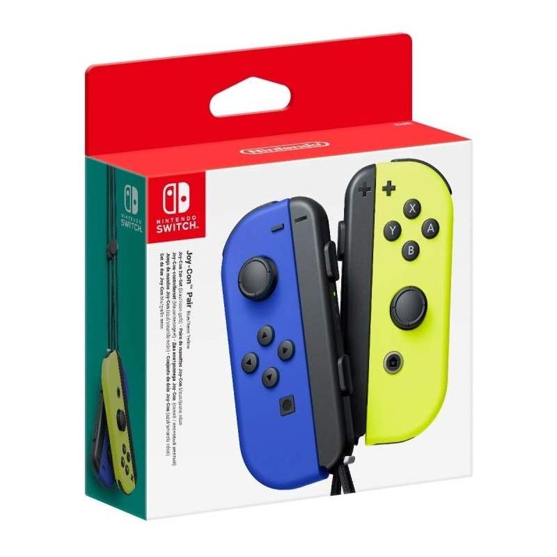 Conjunto Comandos Joy Con Azul & Amarelo Nintendo Switch