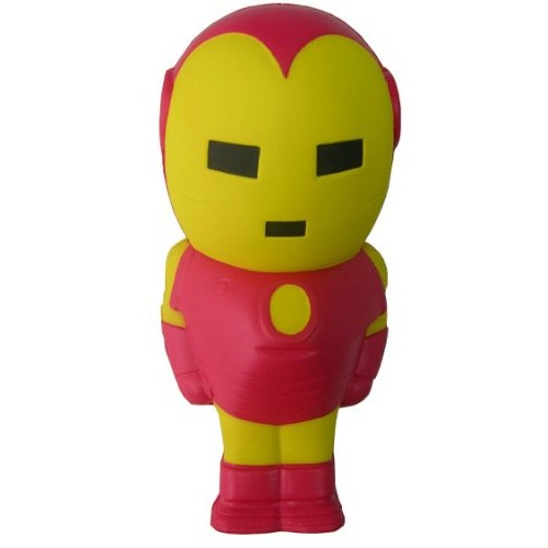 Figura Anti Stress Marvel Classic Toys Iron Man