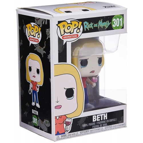 Figura Funko Pop Rick and Morty Beth 301