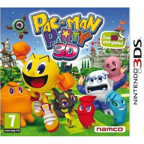 Pac Man Party 3D Nintendo 3DS