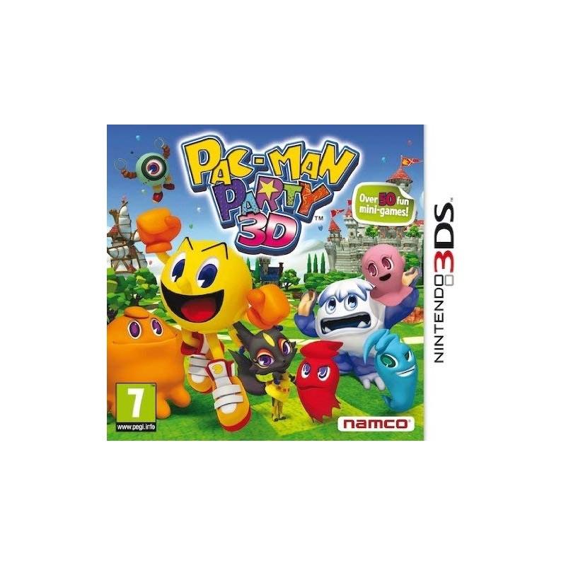 Pac Man Party 3D Nintendo 3DS