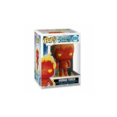 Figura Funko POP Fantastic Four Human Torch 559