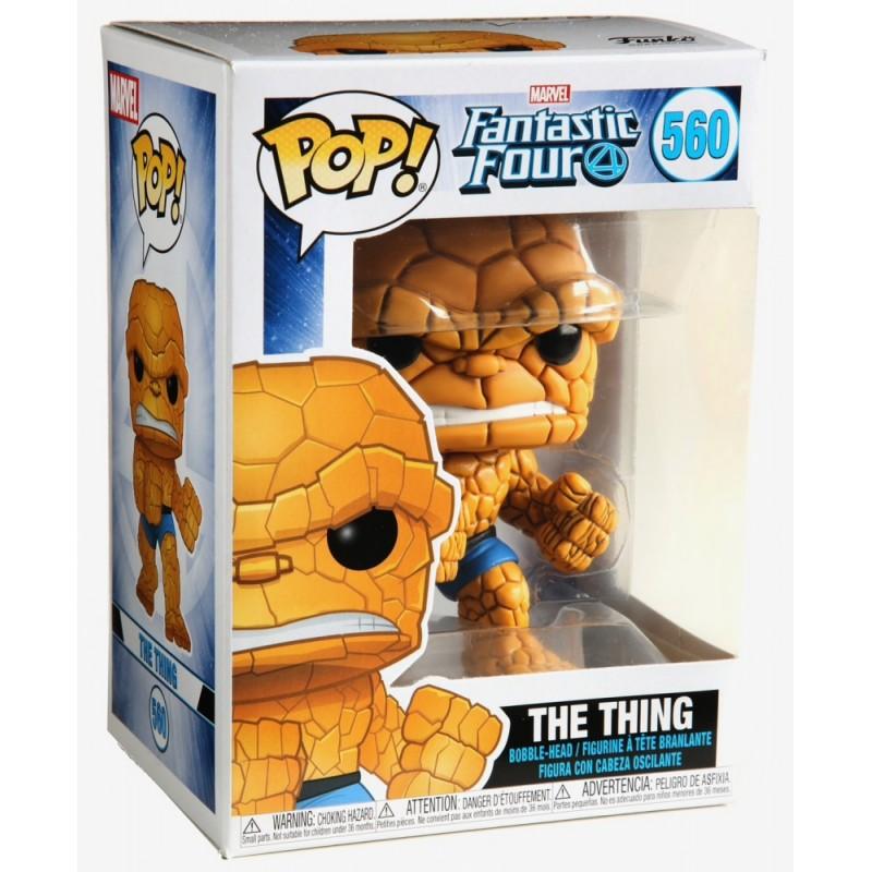 Figura Funko POP Fantastic Four The Thing 560