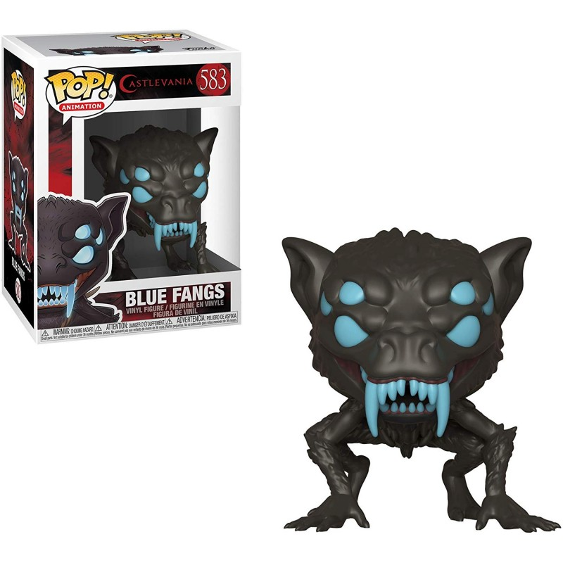 Figura Funko POP Castlevania Blue Fangs 583