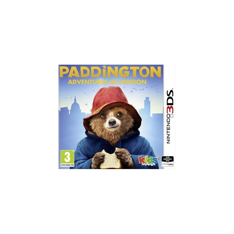 Paddington Adventures in London USADO Nintendo 3DS