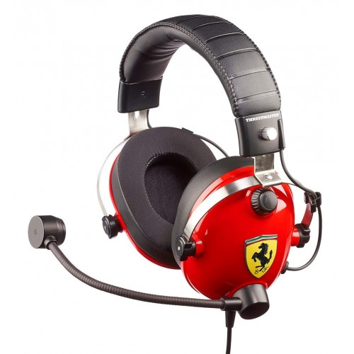 Headset Thrustmaster T.Racing Scuderia Ferrari Edition