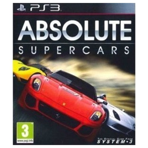 Absolute Supercars USADO PS3