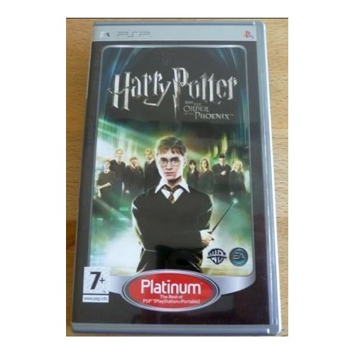 Harry Potter and the Order of the Phoenix (platinum) USADO PSP