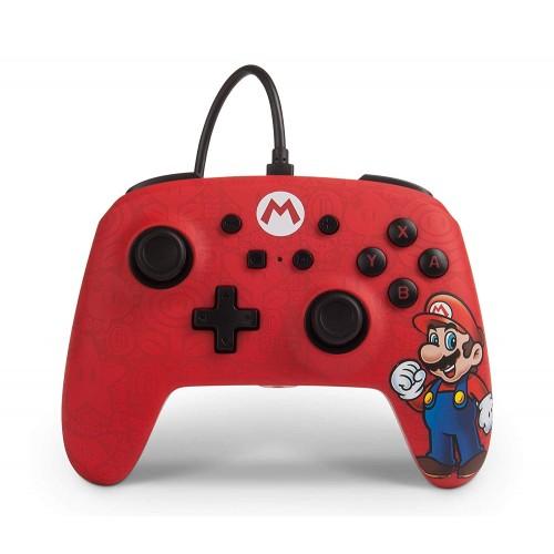 Comando PowerA com fios Super Mario