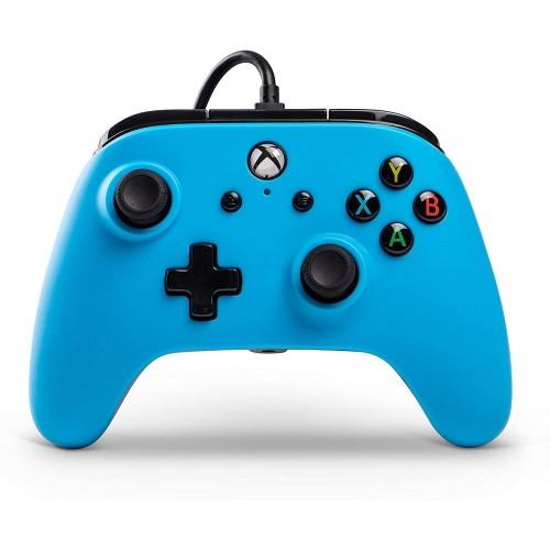 Comando PowerA Azul Xbox One (com fios)