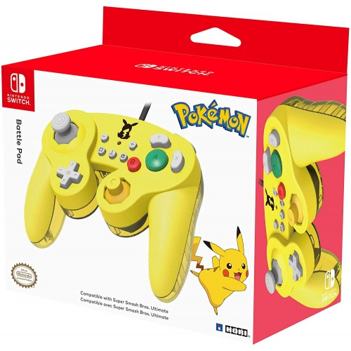 Comando Hori Battle Pad Pikachu Nintendo Switch