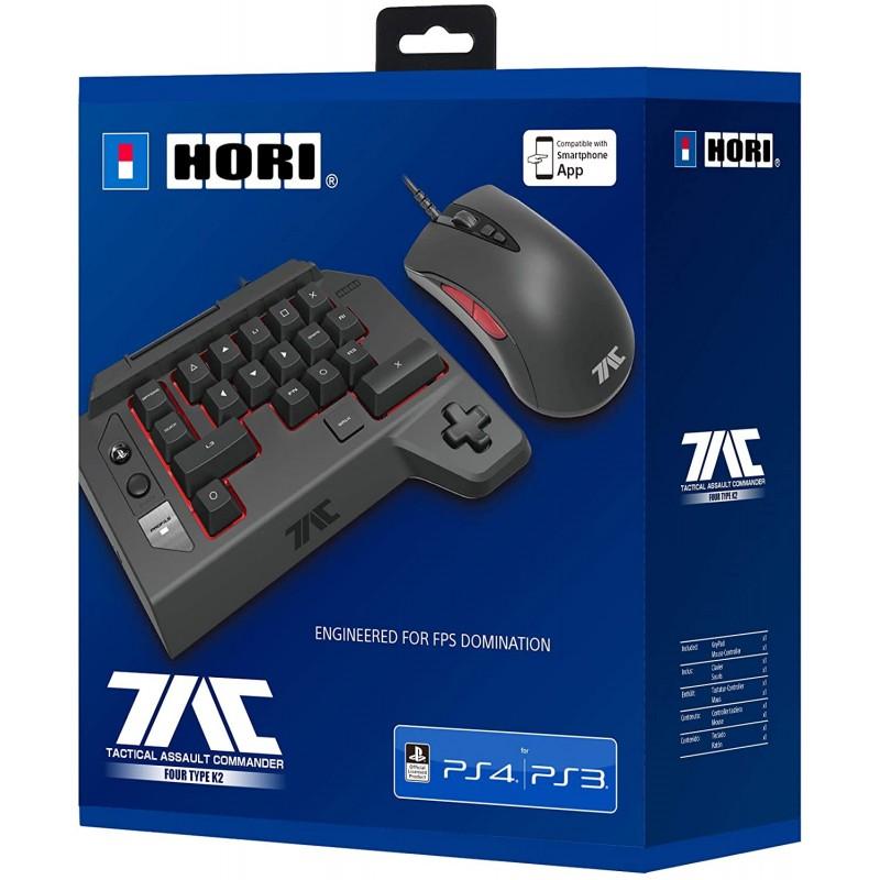 Comando Hori Tactical Assault Commander Four Type K2 PS4 & PS3 & PC