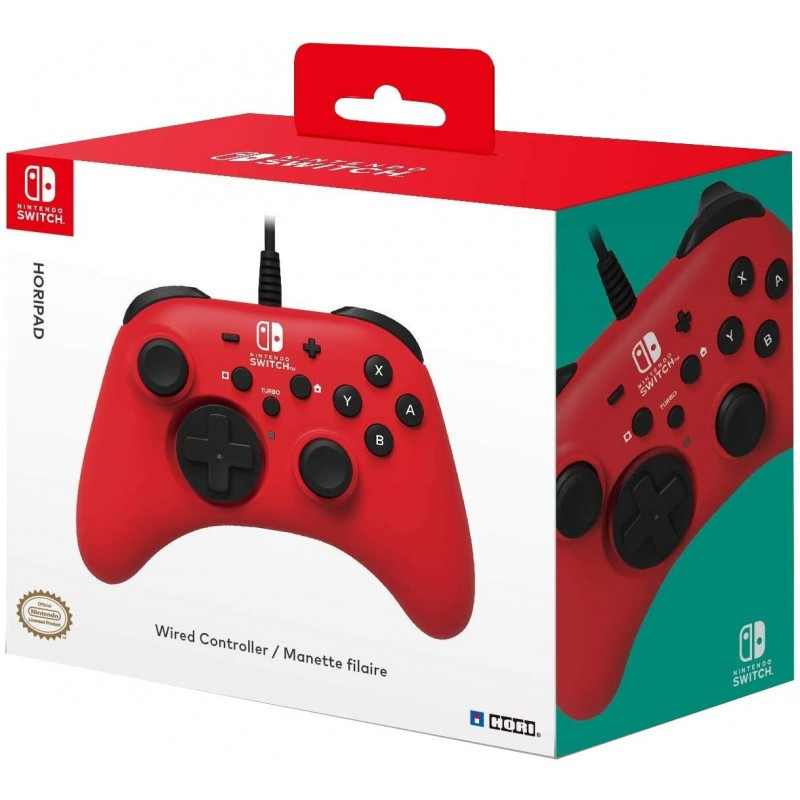 Comando Hori Horipad Vermelho Nintendo Switch