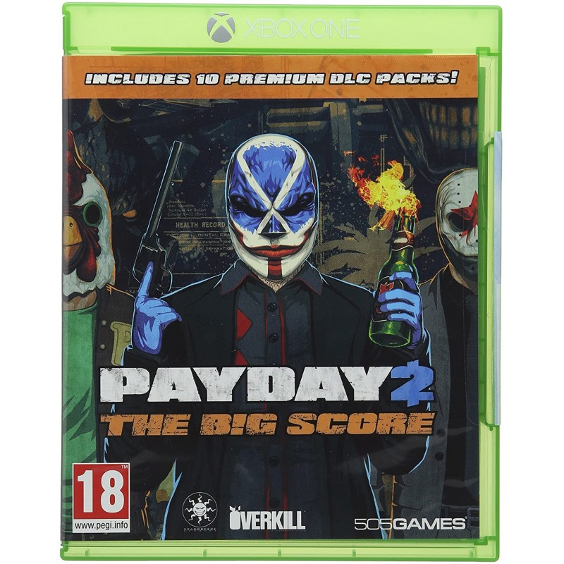 Payday 2 The Big Score Xbox One