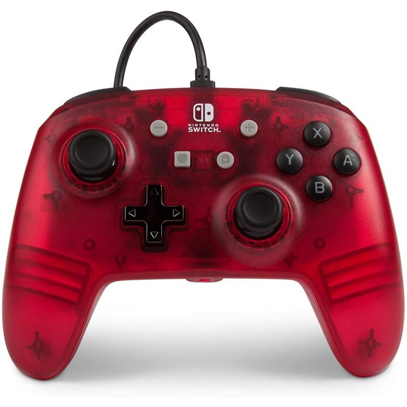 Comando PowerA Red Frost Nintendo Switch (com fios)