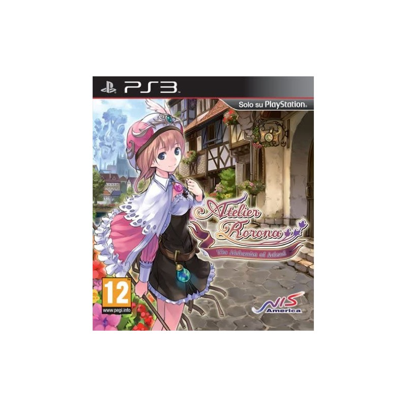 Atelier Rorona The Alchemist Of Arland PS3