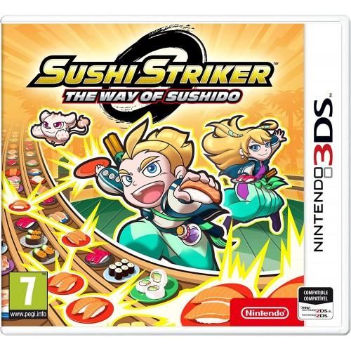 Sushi Striker The Way Of Sushido USADO Nintendo 3DS