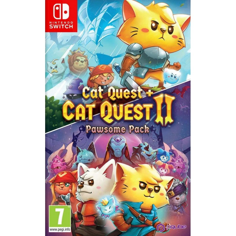 Pack Cat Quest + Cat Quest 2 Nintendo Switch