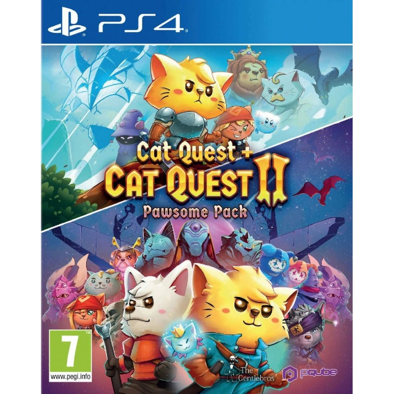 Pawsome Pack Cat Quest + Cat Quest 2 PS4