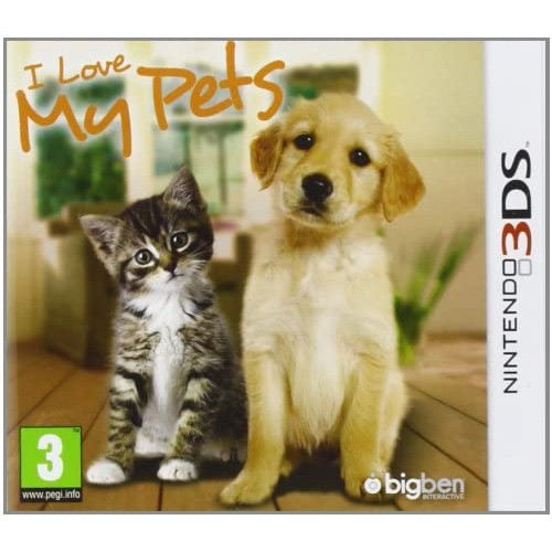 I Love My Pets Nintendo 3DS