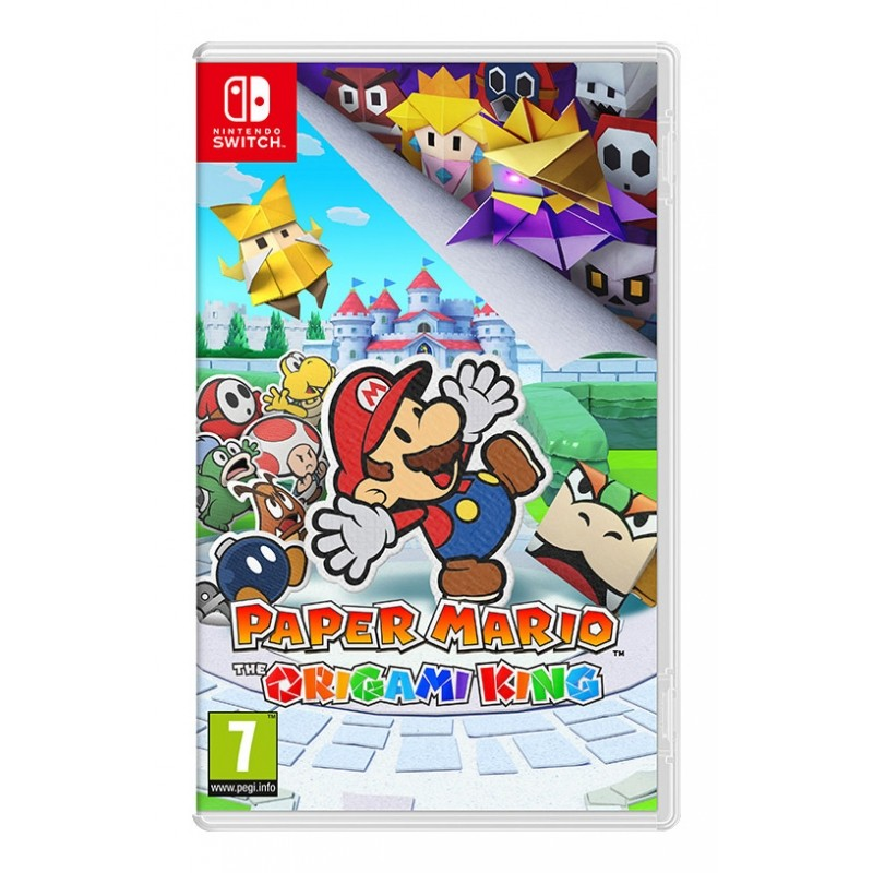 Paper Mario The Origami King Nintendo Switch (Disponível 17/07/2020)