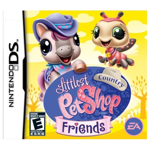 Littlest Pet Shop Novos Amigos no Campo Nintendo DS