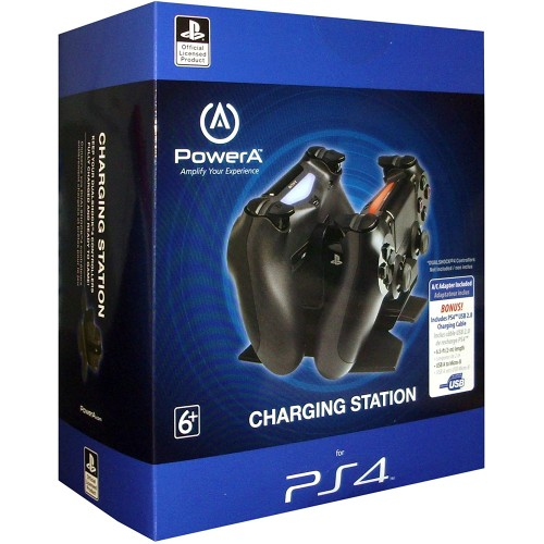 Carregador PowerA Charging Station PS4