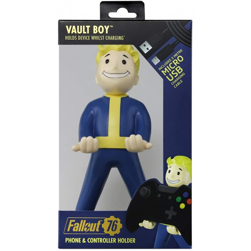 Carregador / Suporte Cable Guy Fallout 76 Vault Boy