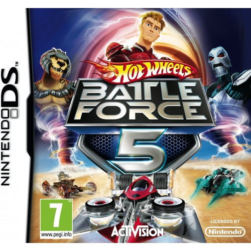 Hot Wheels Battle Force 5 USADO Nintendo DS