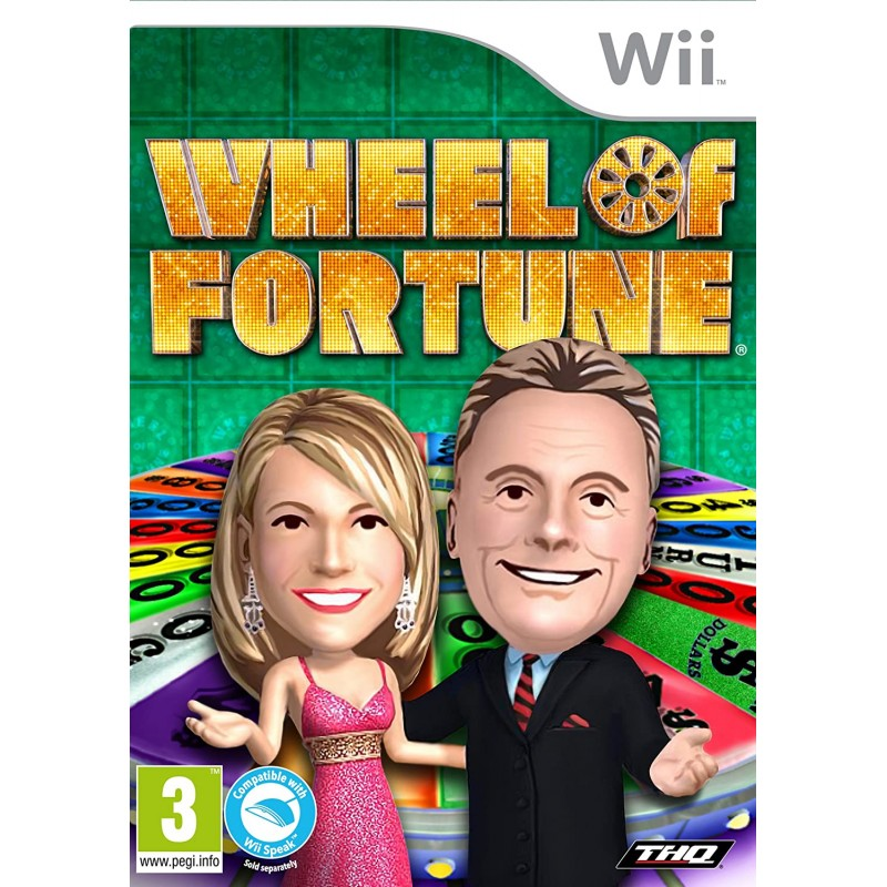 Wheel of Fortune Nintendo Wii