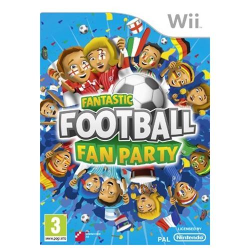 Fantastic Football Fan Party Nintendo Wii
