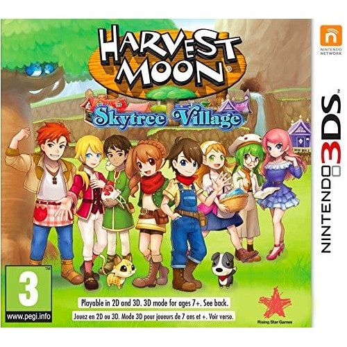 Harvest Moon Skytree Village USADO Nintendo 3DS