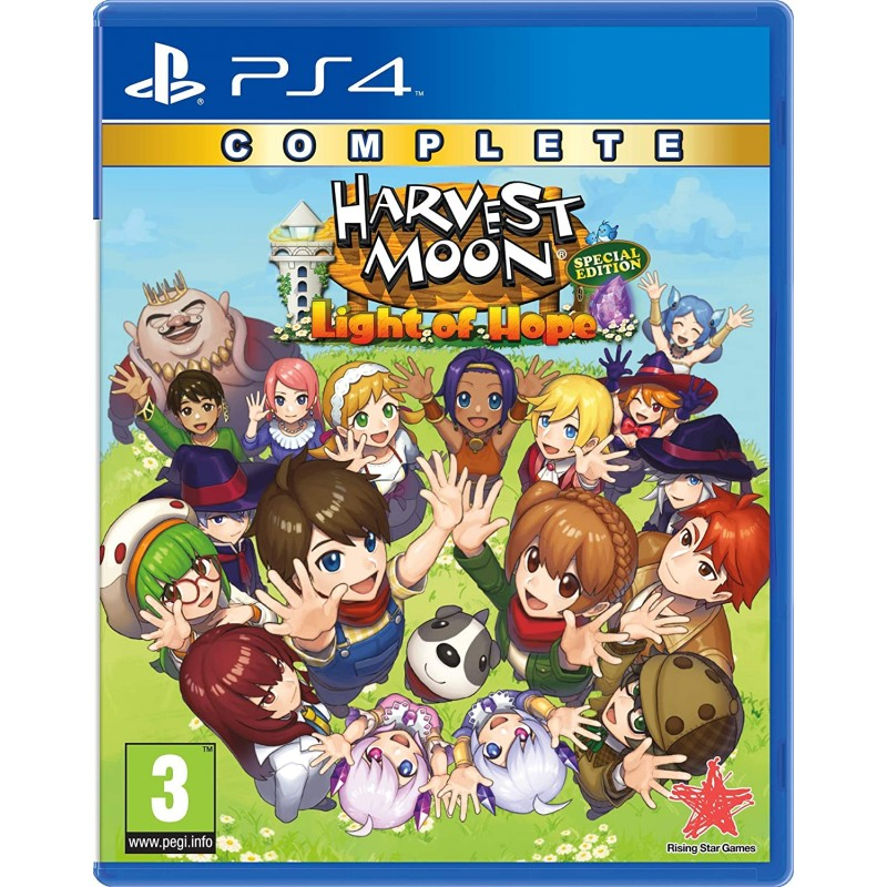 Harvest Moon Light of Hope Complete Special Edition PS4