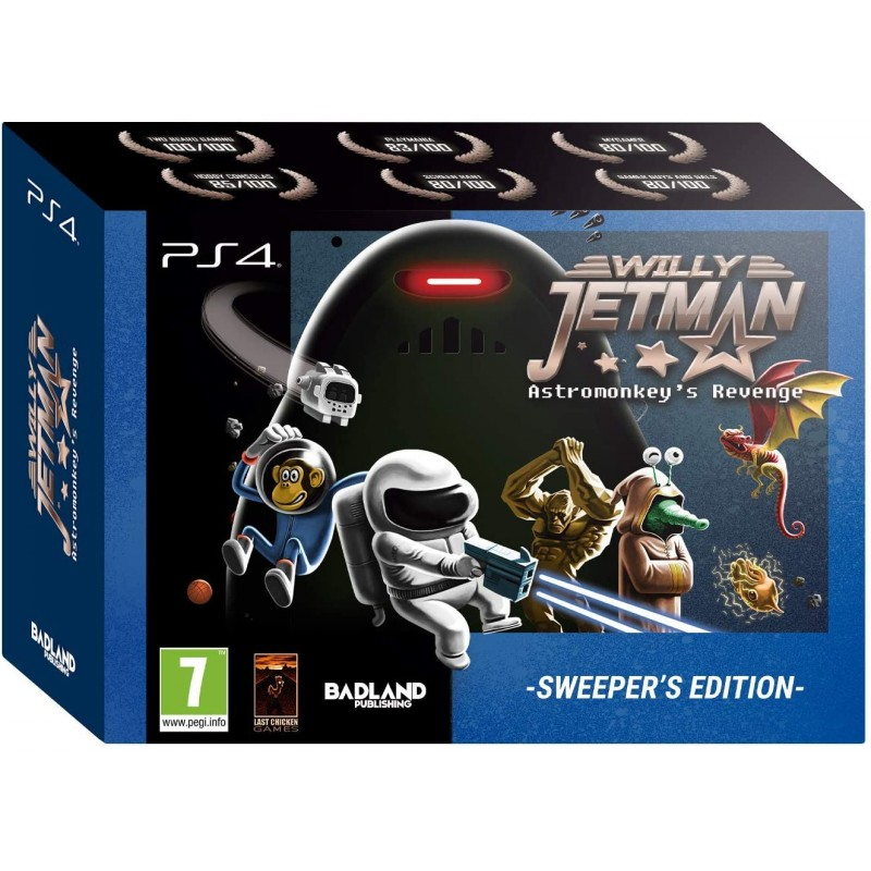 Willy Jetman The Astromonkey´s Revenge Sweeper Edition PS4