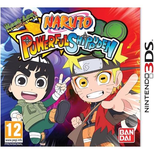 Naruto Powerful Shippuden USADO Nintendo 3DS