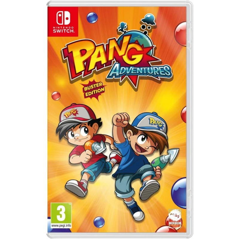 Pang Adventures Nintendo Switch