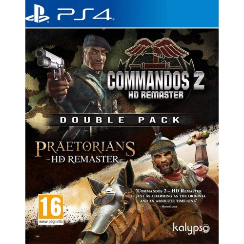 Commandos 2 & Praetorians HD Remaster Double Pack PS4