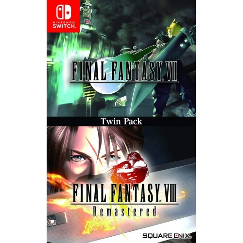 Final Fantasy VII & VIII Remastered Twin Pack Nintendo Switch