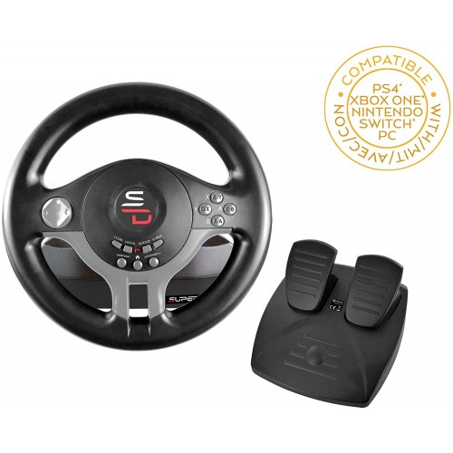 Volante SuperDrive Driving Wheel SV200 PS4 & Xbox One & PC & Nintendo Switch