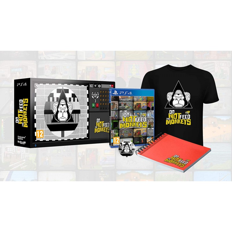 Do not Feed the Monkeys Collector's Edition PS4